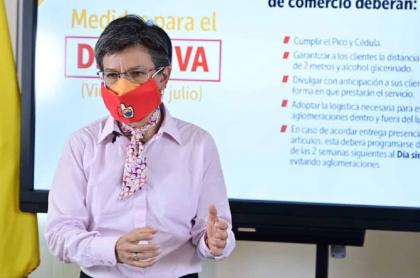 Claudia López responde a Fenalco y le echa el agua sucia al comercio por contagios.