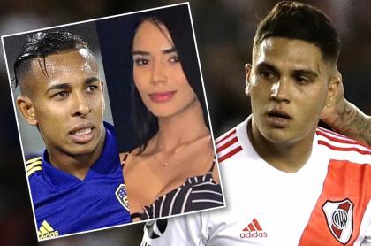 Sebastián Villa, Daniela Cortés y Juan Fernando Quintero