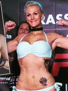 Cindy Dandois, luchadora de UFC