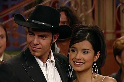 Juan Alfonso Baptista y Paola Rey, en 'Pasión de Gavilanes'