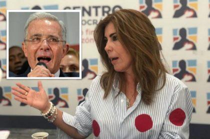 """Directora del CD se disculpó con Uribe; """"no tenía claro el error"""" en audio con 'Caya' Daza"""
