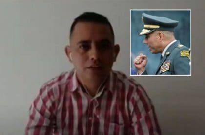 Exsargento Díaz habla de su salida del Ejército
