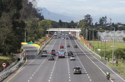 Así quedó la Autopista Norte, en Bogotá