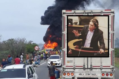 Gustavo Bolívar opina sobre explosión de camión de gasolina