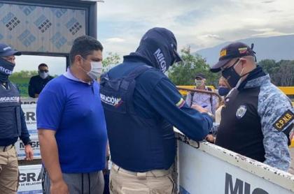 Expulsión de venezolano que agredió a policías