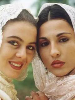 Margarita Ros de Francisco y Amparo Grisales en 'Los pecados de Inés de Hinojosa'