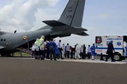 Heridos-de-explosión-llegan-a-Bogotá