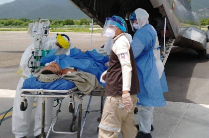 Herido en explosión de camión con gasolina en Magdalena transportado a Bogotá