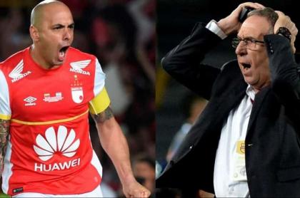 Ómar Pérez y Gerardo Pelusso
