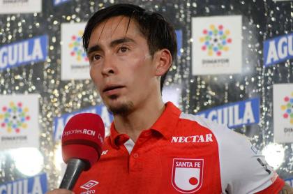 Fabián Sambueza, jugador de Santa Fe
