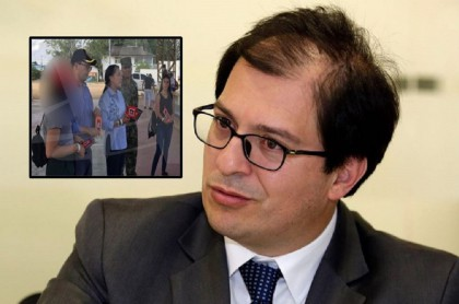 Viaje de Francisco Barbosa con su familia a Caso Cristales
