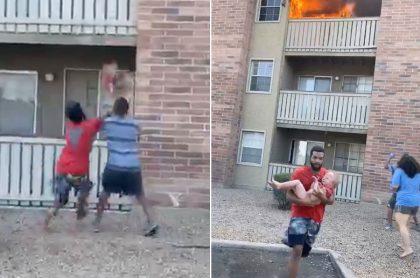Joven negro salva a niño