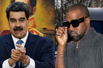 Nicolás Maduro y Kaney West