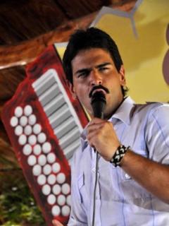 Alejandro Palacio, actor y cantante.