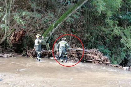 Madre y su hija, de 3 años, murieron en río de Oro en Piedecuesta