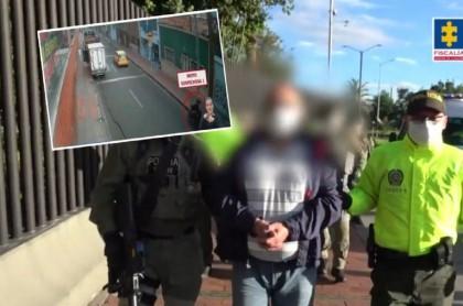 Hija defiende a capturado por atentado a escuela de Policía