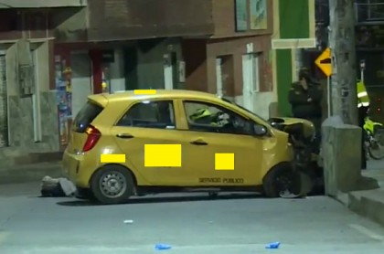 Taxi-estrellado-sur-de-Bogotá