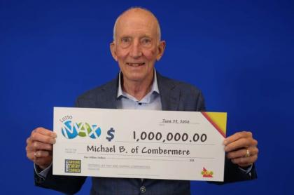 Ganador de lotería.