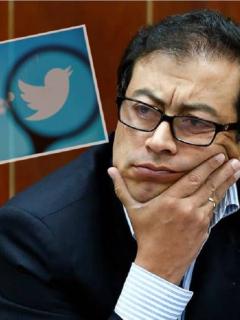 Gustavo Petro dice que lo deprimían los comentarios en Twitter