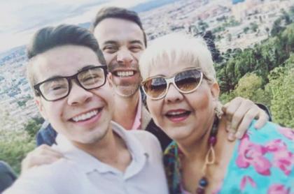 'Gorda' Fabiola y familia.