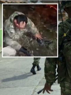Mamá de soldado muerto le reclama al Ejército