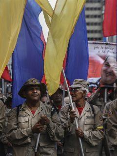 Militares retirados venezolanos