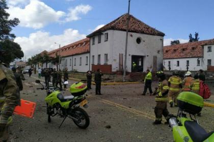 Cárcel a implicados en atentado a Escuela de Cadetes