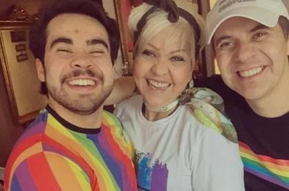 Hijo gay de 'Gorda' Fabiola habló de su 'salida del clóset' y de su conflicto interno por su físico.