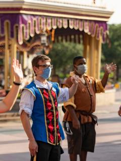 Reapertura de Disney World en Orlando