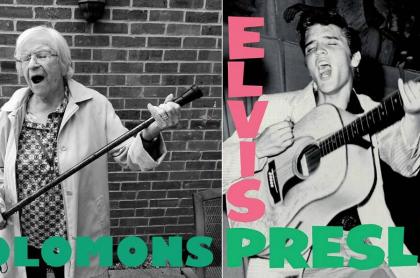 Montaje portada Elvis Presley
