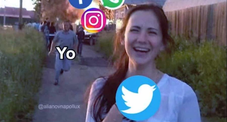 Internautas reaccionan con memes a la caída de WhatsApp, este 14 de julio.