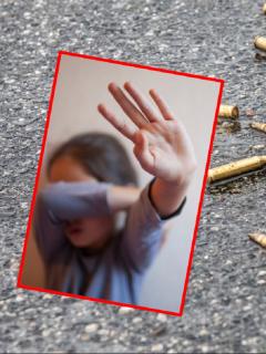 Niña de 4 años fue víctima de bala perdida: