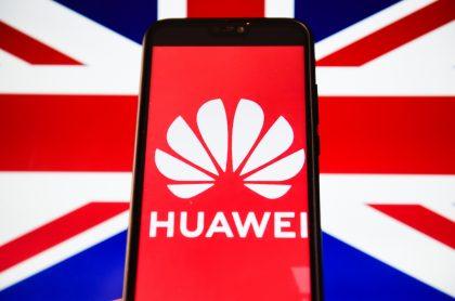 Huawei, Reino Unido