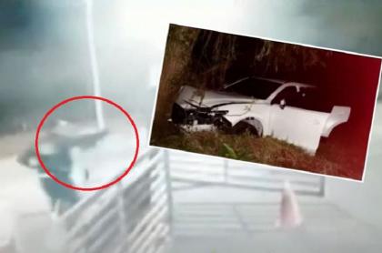 Vigilante les dispara a ladrones y mata a conductor de camioneta