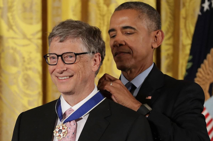 Bill Gates y Barack Obama