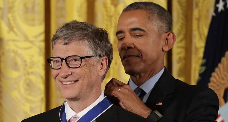 Bill Gates y Barack Obama