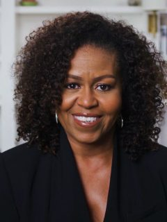 Michelle Obama fue recientemente elegida como la mujer más admirada en Estados Unidos. Trump fue el hombre más admirado.