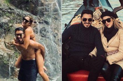 Regalo que novio envió a Daniela Ospina antes de que ella viajara con su hija a donde James Rodríguez.