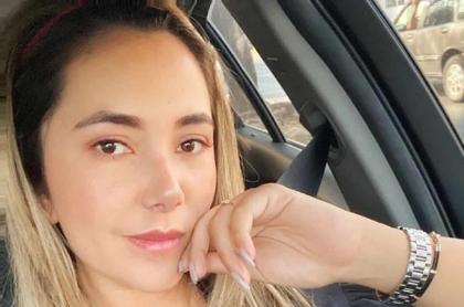 Dayana Jaimes, viuda de Martín Elías, tuvo coronavirus y aclaró falsa información al respecto.