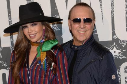 """""""Hemos sobrevivido al COVID en familia"""", la frase que sugiere que Thalía tuvo el virus"""