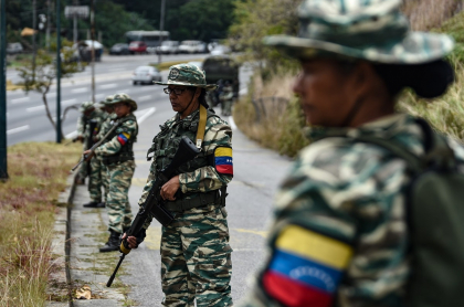 Mujeres de la Guardia Nacional Bolivariana de Venezuela