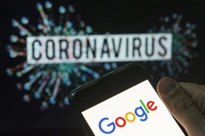 Google y coronavirus