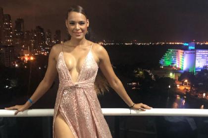 Lina Mosquera, exvirreina nacional.