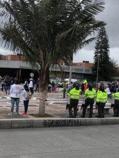 Bogotanos no aprenden: armaron marcha mientras la ciudad se acerca al pico de la pandemia.