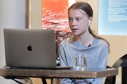 Greta Thunberg donó un millón de euros que ganó en premio.