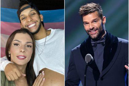 Mensaje que Ricky Martin dedicó a Danna y Esteban por el nacimiento de su hijo
