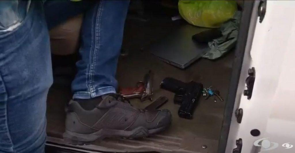 Armas incautadas-Noticias Caracol