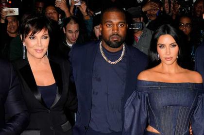 """""""He tratado de divorciarme de Kim"""": Kanye West se va contra su esposa... y su suegra"""
