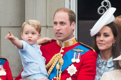 ¡Se creció! Con fotos informales celebraron los 7 años del príncipe George