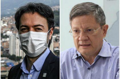 Desacuerdo entre Daniel Quintero y Luis Fernando Suárez por cuarentena estricta